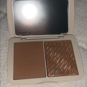 Cover Fx Monochromatic Bronzer Duo Matte & Shimmer